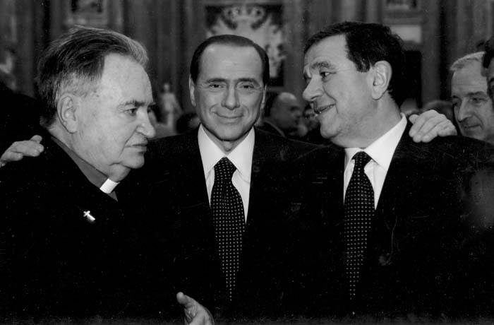 Berlusconi e Gagliardi